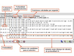 Ejemplo de motor de análisis